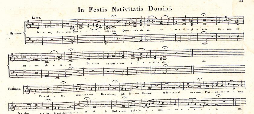 In festis nativitatis domini