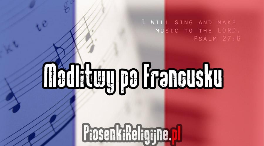 Modlitwy po Francusku